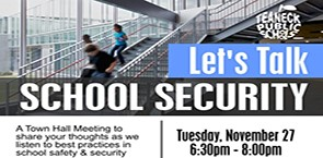 School Security Town Hall - Nov. 27th at THS
