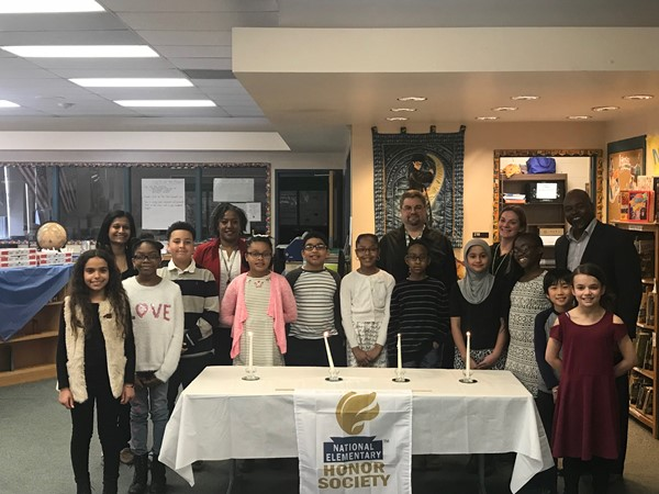National Elementary Honor Society Induction