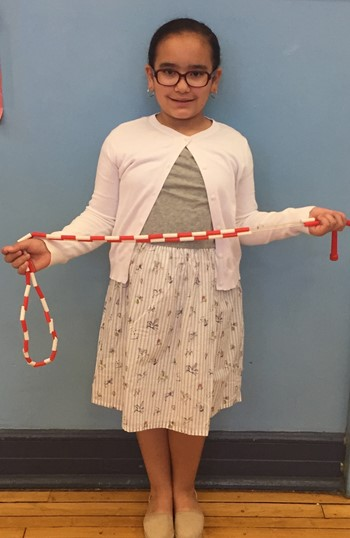 Student Holding a Jump Rope