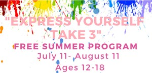 Teaneck Recreation Department  presents a Free Summer Program Ages 12 - 18