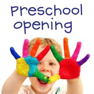 Preschool Opening