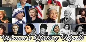 Women's History Month Calendar