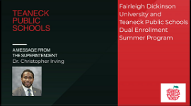 FDU Summer Dual Enrollment Program - Register Now