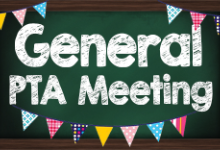 Lacey PTA Meeting ~ Tuesday 10/12 @ 6:30 PM via Zoom