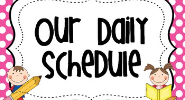 2021-2022 Daily Schedules by Grade Level