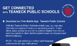 Teaneck Public Schools Mobile App