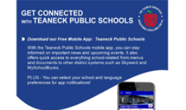 Get Connected with Teaneck Public Schools