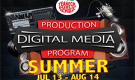 Digital Media Summer Program July 13 - August 14