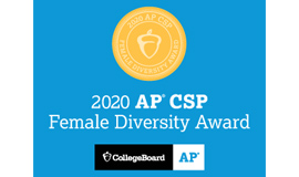 Teaneck High School Earns College Board AP® Computer Science Female Diversity Award