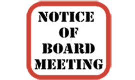 Public Notice Time Change and Virtual Meeting Information 01/20/21 Regular Public Meeting