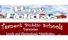 District Free Breakfast, Lunch & ChromeDepot - Dec. Schedule