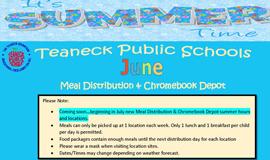District Free Breakfast, Lunch & ChromeDepot - June Schedule