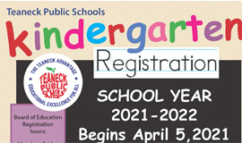 Kindergarten Registration Begins April 5, 2021