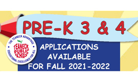 2021-2022 Applications for Free Preschool - Extended Deadline April 16