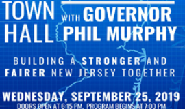 Town Hall with Governor Phil Murphy - Sept. 25