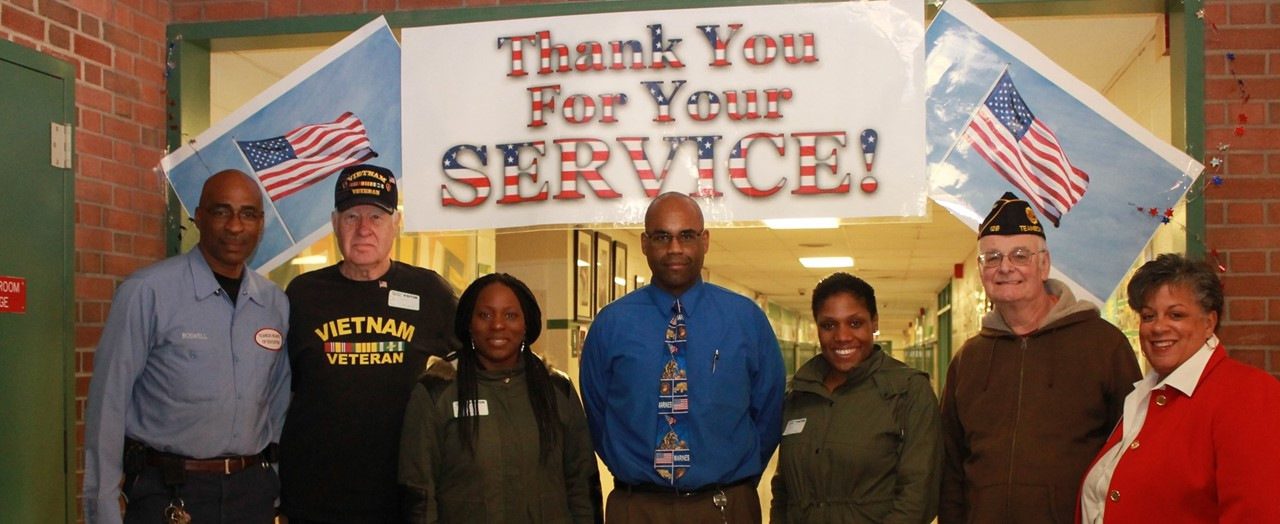 Principal and honored veterans
