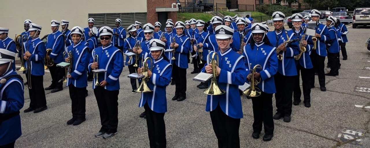 New Uniforms for THS Marching Band