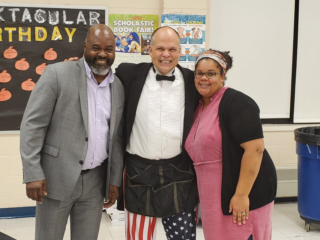 Mr. Green, Magician Bob & Mrs. Gibson
