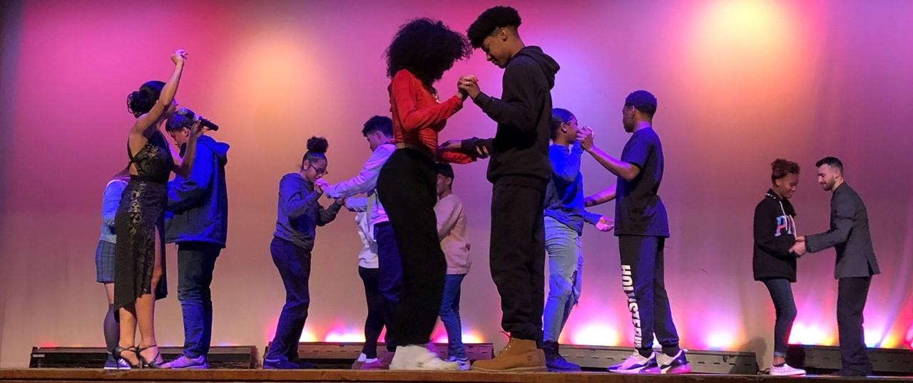 THS Students Tango Dance