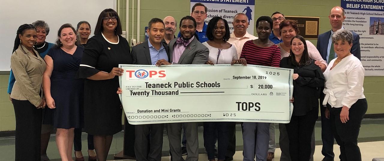T.O.P.S. Donates $20,000