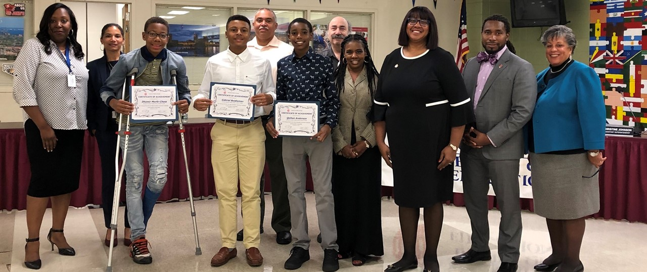 Exceptional Students Recognized by BOE 02