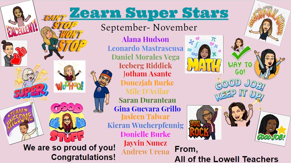 Zearn Super Stars