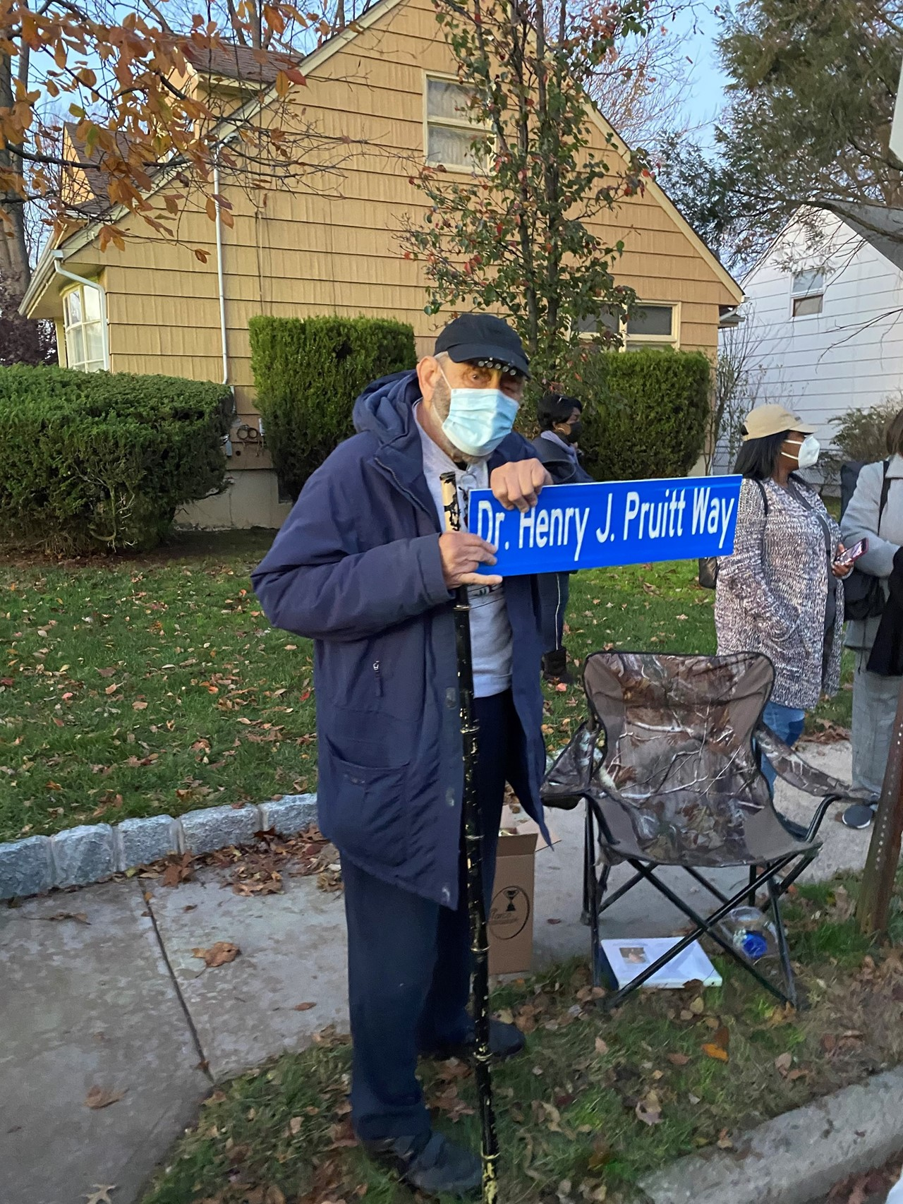 Dr. Pruitt Honored with Street Renaming