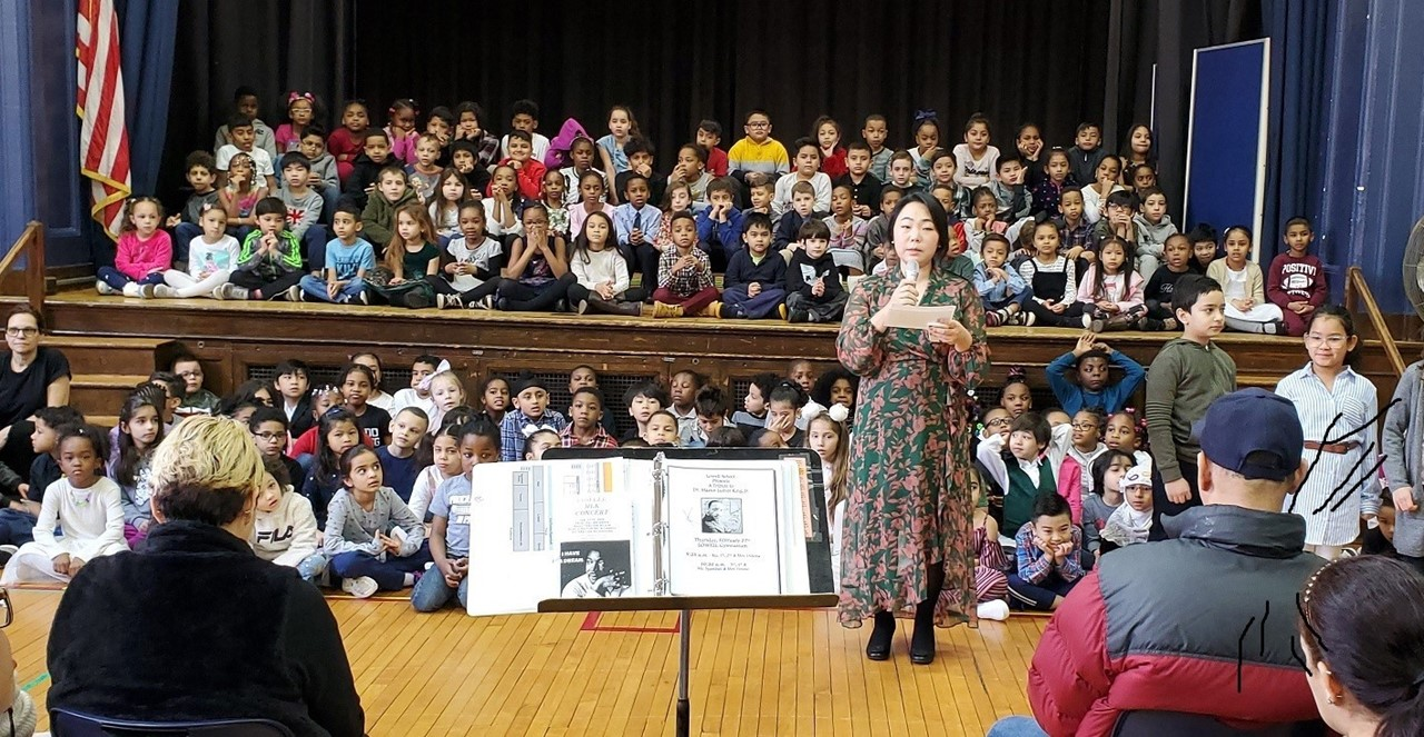 MLK Concert:  Grades K-2 Assembly