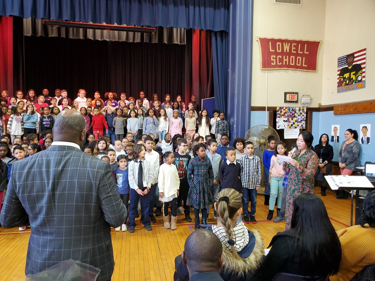 MLK Concert:  Grades 3-4 Assembly