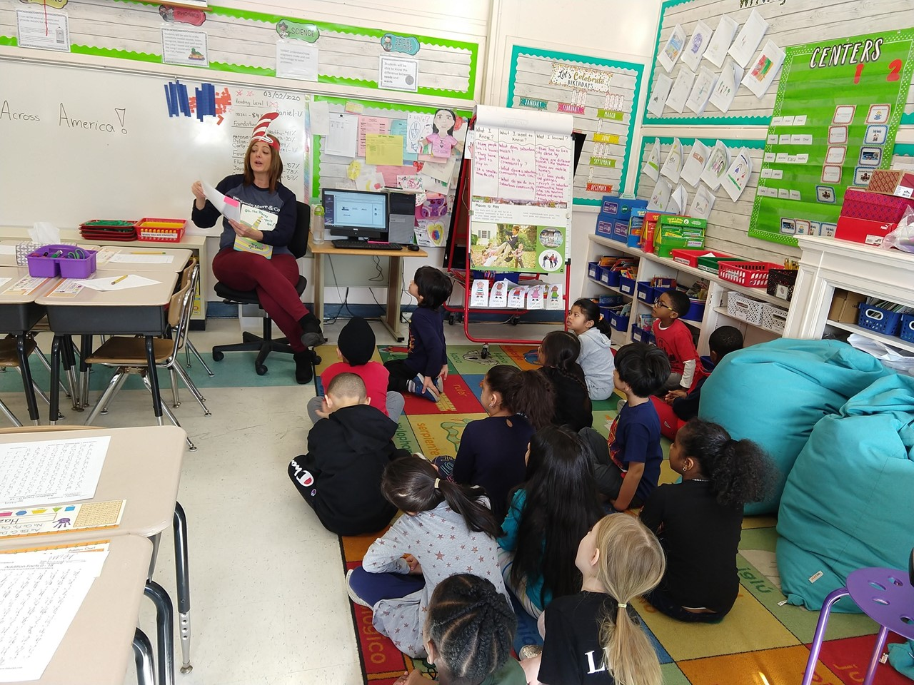 Read Across America - Ms. Joseph's First Grade Class