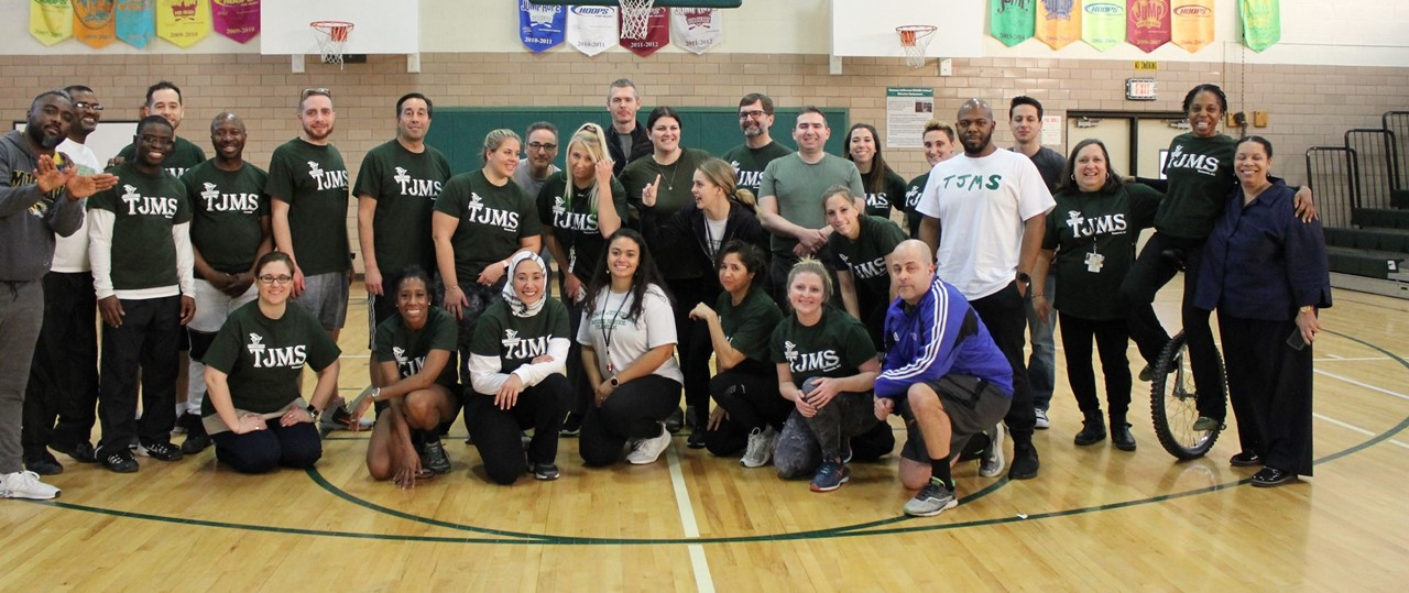 TJ Staff Volleyball Team