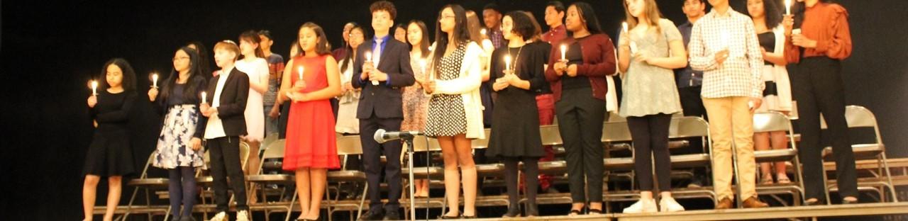 Nation Junior Honor Society Ceremony
