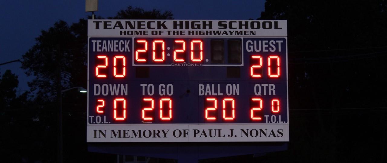 THS Scoreboard 2020