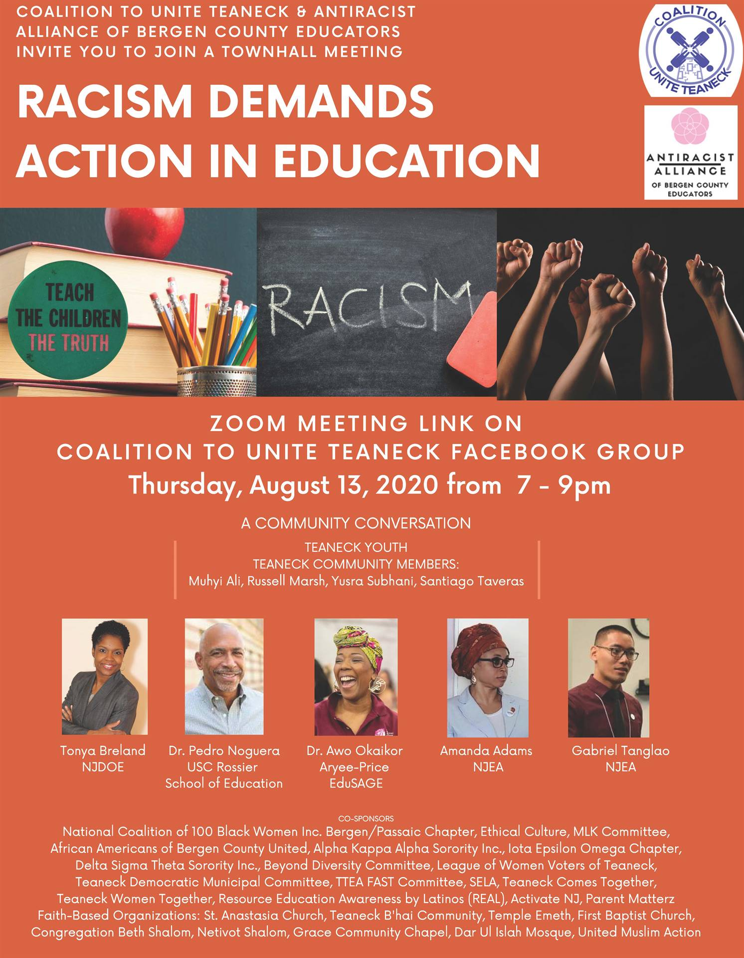 Racism Demands Action in Education