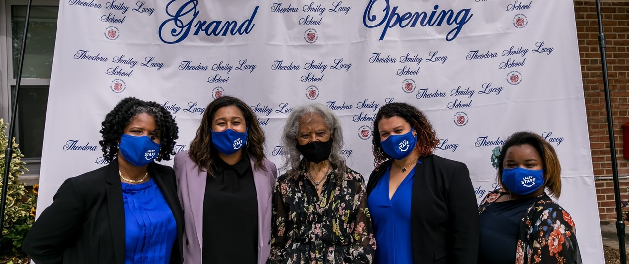 Theodora Smiley Lacey School Grand Opening