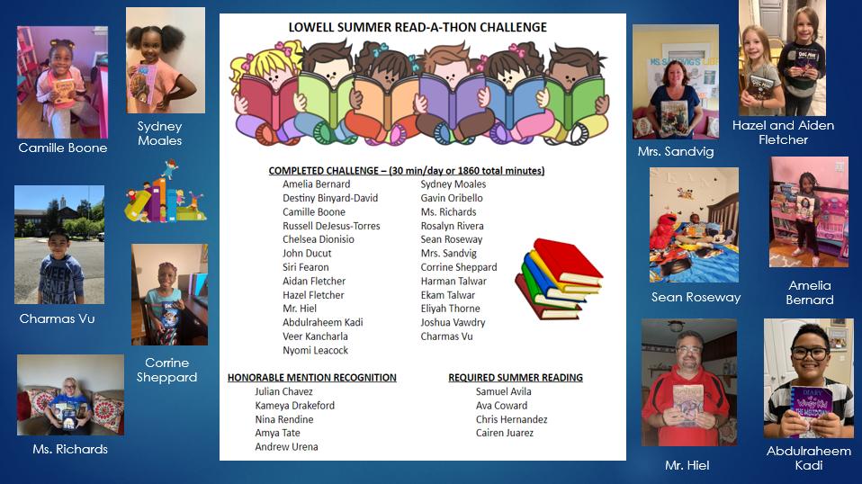 Summer Read-a-Thon Challenge