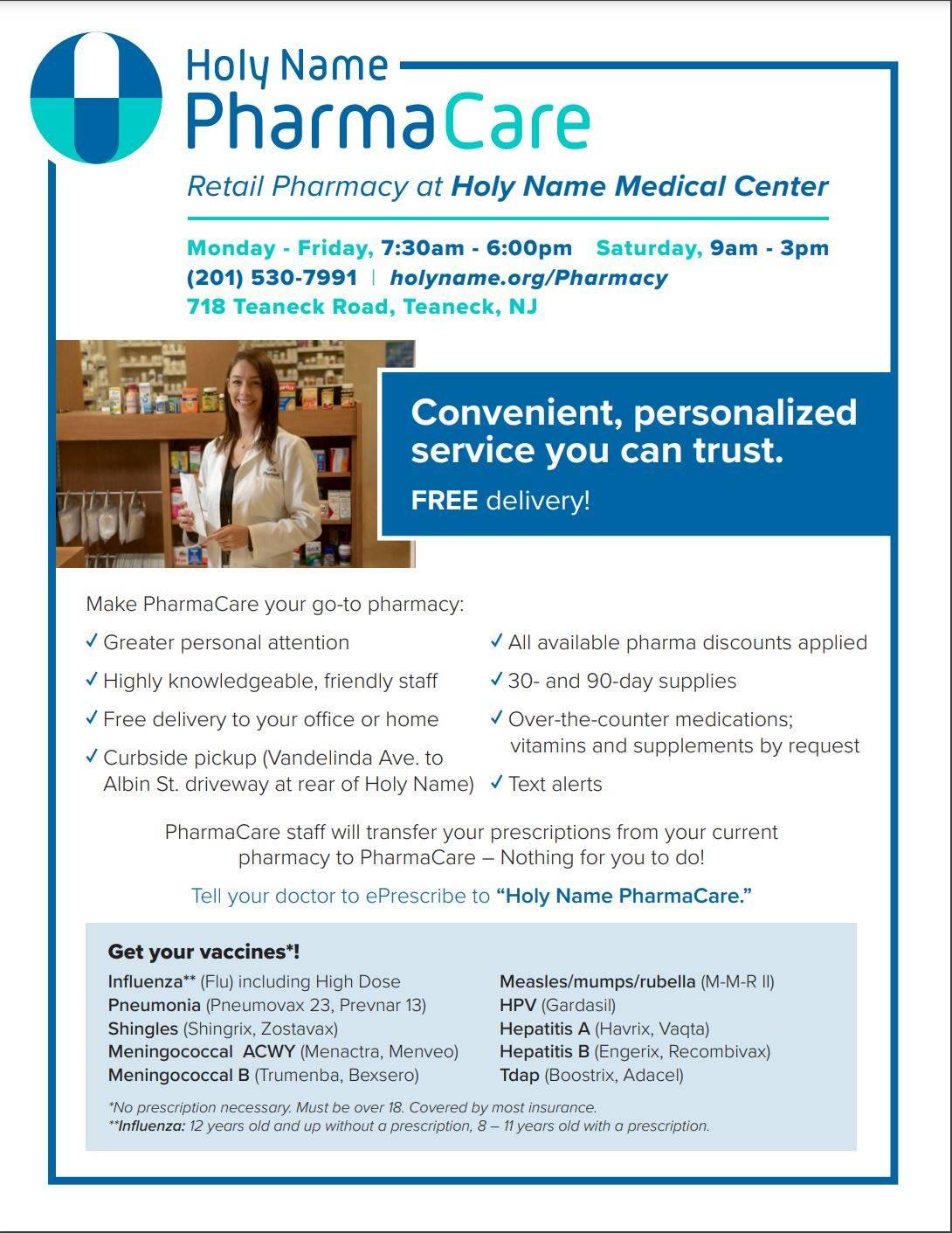 Holy Name Pharmacy