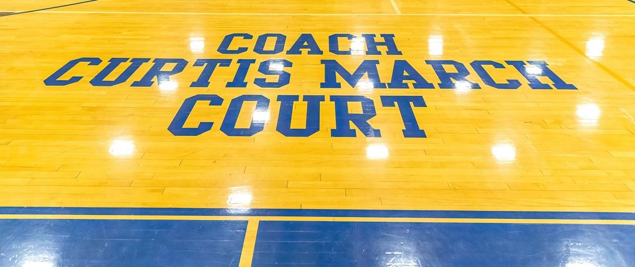 Coach Curtis March Court