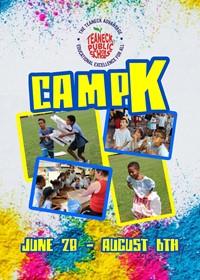 Camp K 2021 Flyer